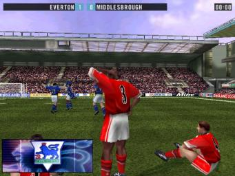 Pantallazo de F.A. Premier League Stars 2001 para PC