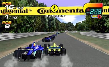 Pantallazo de F1 World Grand Prix 2000 para PC