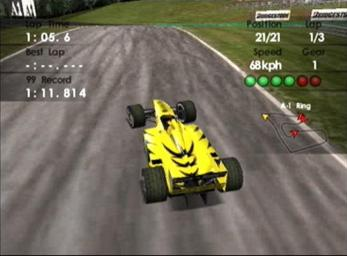 Pantallazo de F1 World Grand Prix II para Dreamcast