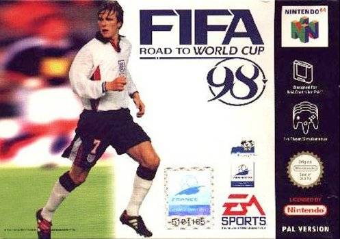 Caratula de FIFA: Road to World Cup 98 para Nintendo 64