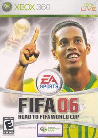 Caratula de FIFA 06: Road to FIFA World Cup para Xbox 360