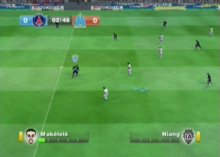 Pantallazo de FIFA 09 All-Play para Wii