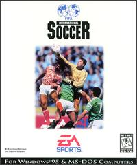 Caratula de FIFA International Soccer para PC
