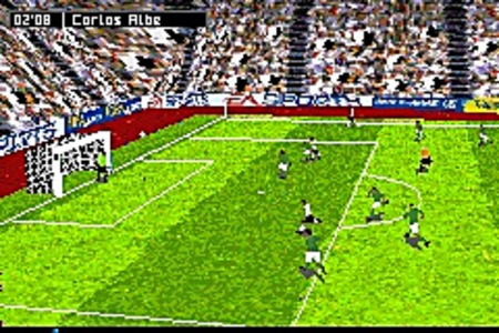 Pantallazo de FIFA Soccer 07 para Game Boy Advance