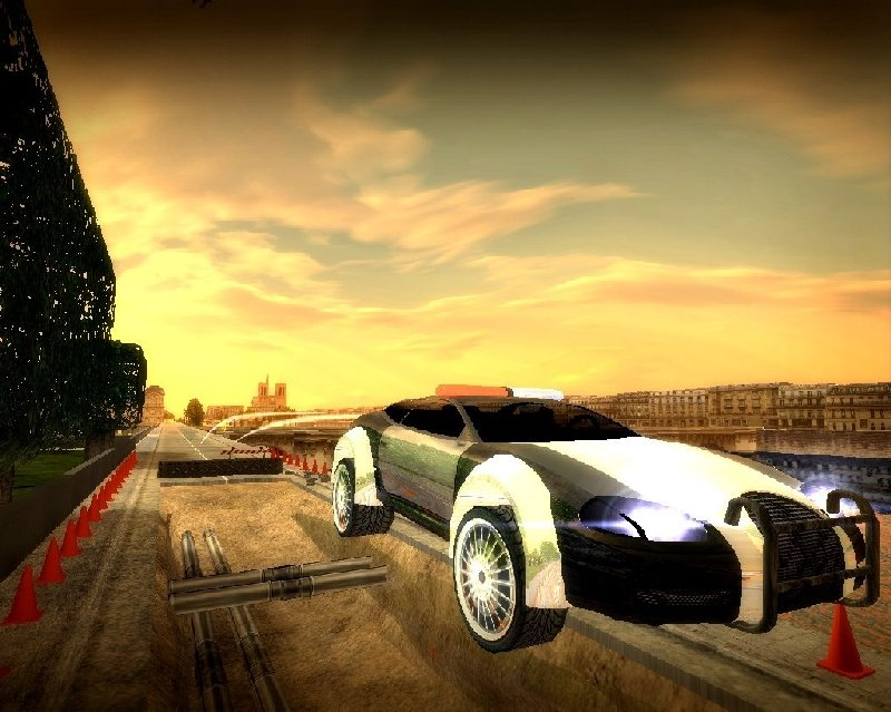 Pantallazo de FSR - French Street Racing para PC