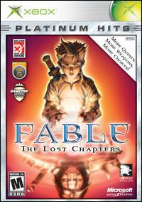 Caratula de Fable: The Lost Chapters [Platinum Hits] para Xbox