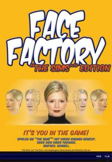 Caratula de Face Factory: The Sims Edition para PC