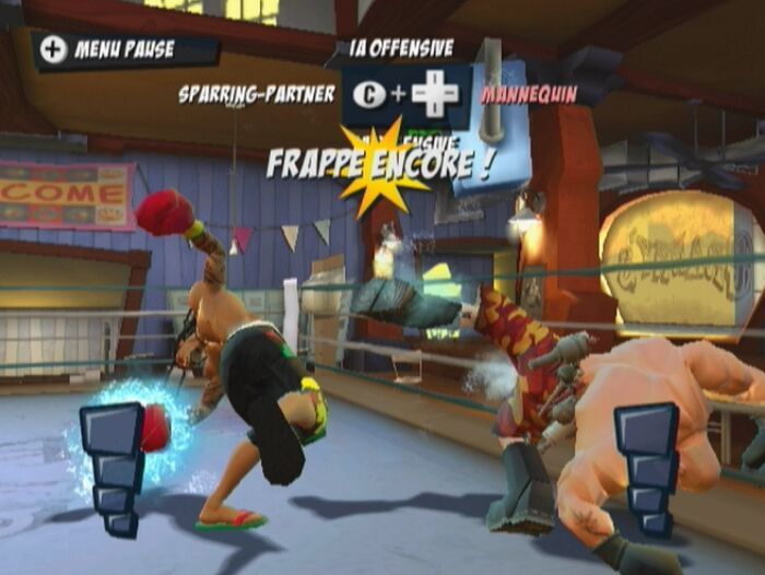 Pantallazo de FaceBreaker KO Party para Wii