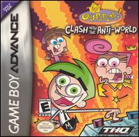 Caratula de Fairly OddParents: Clash with the Anti-World para Game Boy Advance