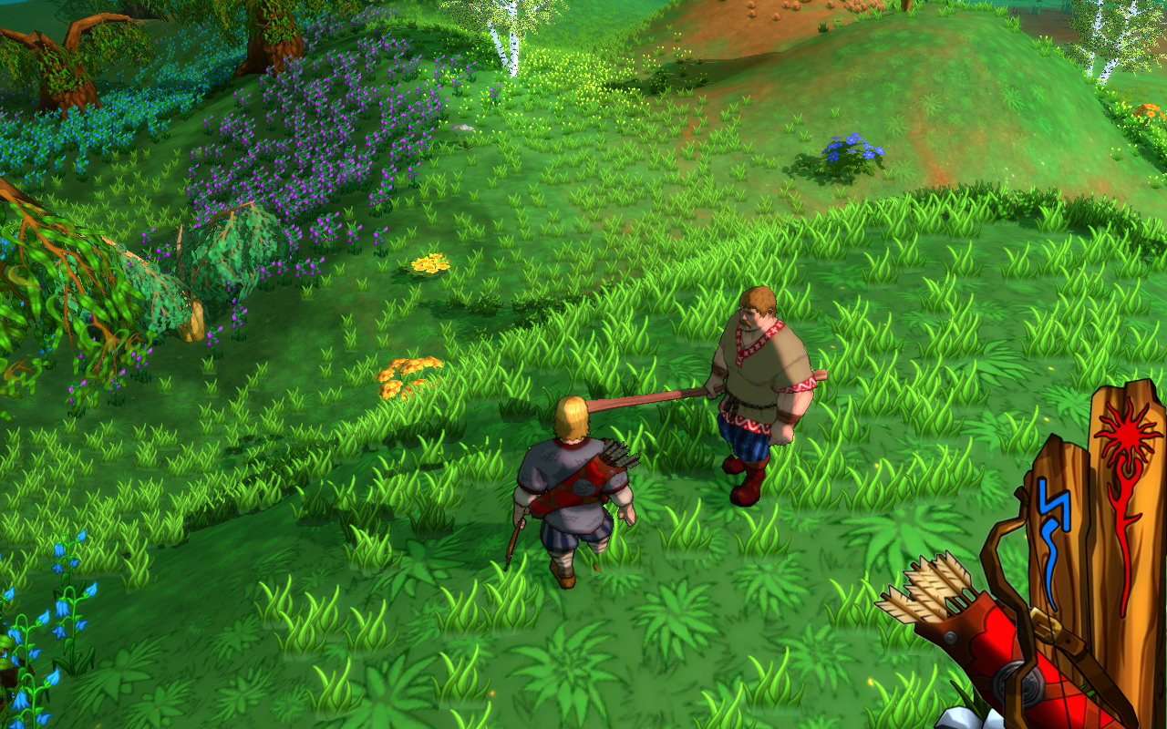 Pantallazo de Fairy Tales: Three Heroes para PC