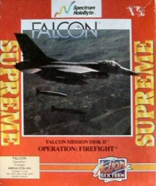 Caratula de Falcon Mission Disk Volume II: Operation Firefight para Amiga