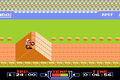 Pantallazo de Famicom Mini Vol 4 - Excite Bike (Japonés) para Game Boy Advance
