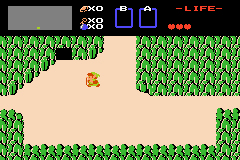 Pantallazo de Famicom Mini Vol 5 - Zelda no Densetsu (Japonés) para Game Boy Advance