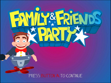 Pantallazo de Family & Friends Party (Wii Ware) para Wii