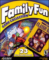 Caratula de Family Fun Game Collection para PC