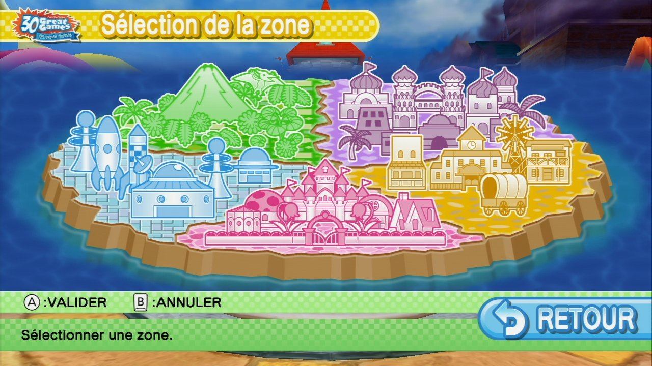Pantallazo de Family Party: 30 Great Games Obstacle Arcade para Wii U