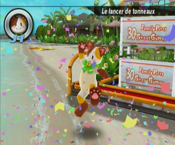 Pantallazo de Family Party: 30 Great Games para Wii