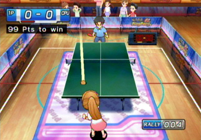 Pantallazo de Family Table Tennis (WiiWare) para Wii