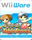 Caratula nº 124880 de Family Table Tennis (WiiWare) (160 x 225)