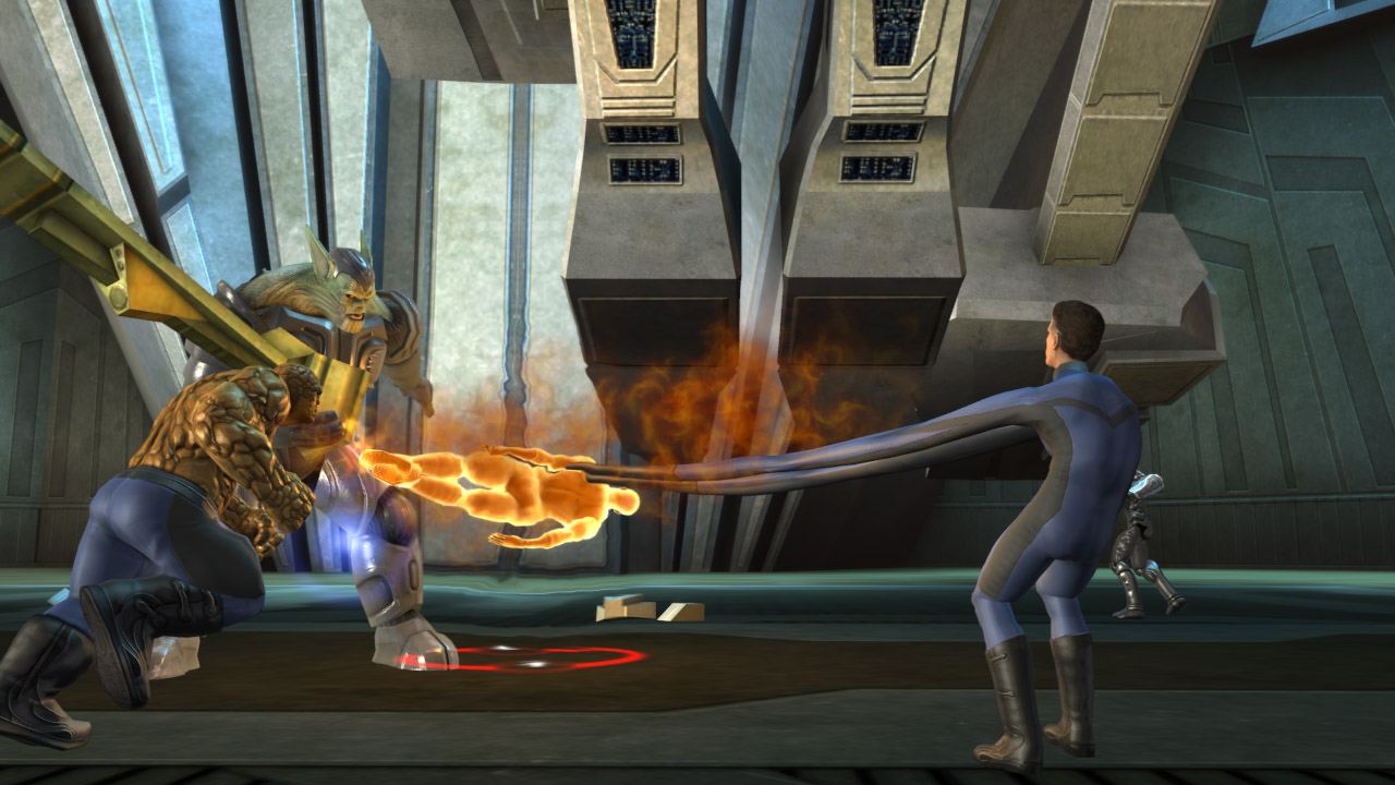 Pantallazo de Fantastic 4: Rise of the Silver Surfer para Xbox 360