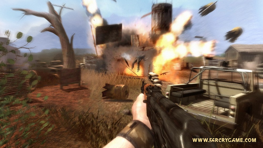Pantallazo de Far Cry 2 para PC