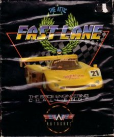 Caratula de Fast Lane! The Spice Engineering Challenge para Amiga