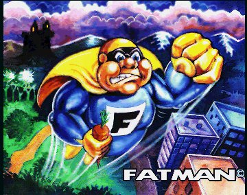 Pantallazo de Fatman: The Caped Consumer para Amiga