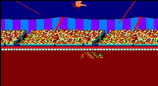 Pantallazo de Fiendish Freddy's Big Top O' Fun para Amstrad CPC