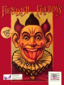 Caratula de Fiendish Freddy's Big Top O' Fun para Amstrad CPC