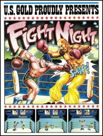 Caratula de Fight Night para Commodore 64