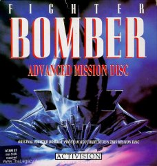 Caratula de Fighter Bomber Advanced Mission Disk para Amiga