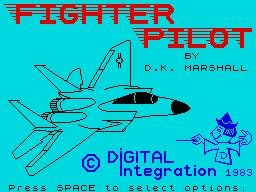 Pantallazo de Fighter Pilot para Spectrum