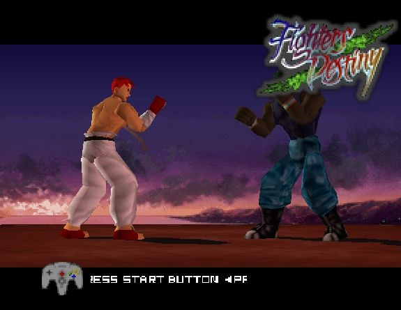 Pantallazo de Fighters Destiny para Nintendo 64