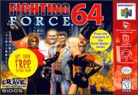 Caratula de Fighting Force 64 para Nintendo 64