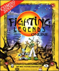 Caratula de Fighting Legends Online para PC