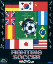 Caratula de Fighting Soccer para Amiga