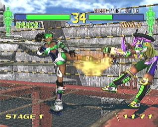 Pantallazo de Fighting Vipers 2 para Dreamcast