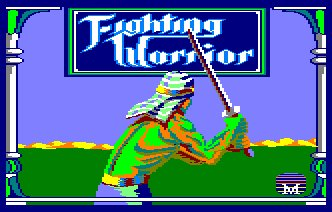 Pantallazo de Fighting Warrior para Amstrad CPC