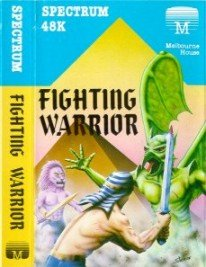 Caratula de Fighting Warrior para Spectrum