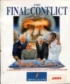 Caratula de Final Conflict, The para Amiga