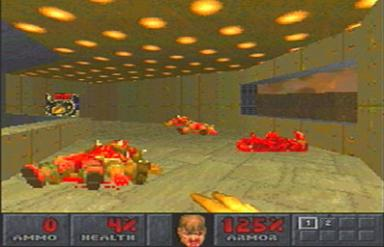 Pantallazo de Final DOOM para PlayStation