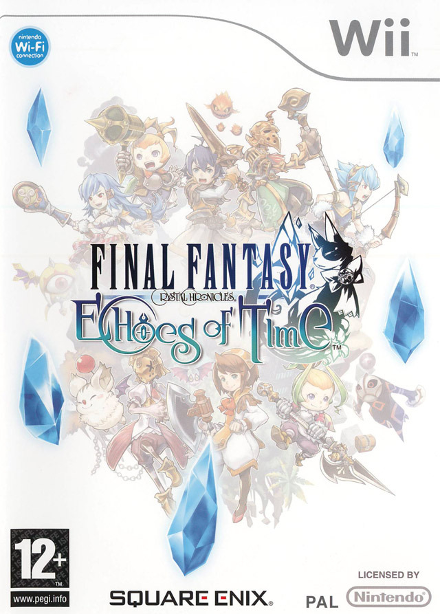 Caratula de Final Fantasy Crystal Chronicles: Echoes of Time para Wii