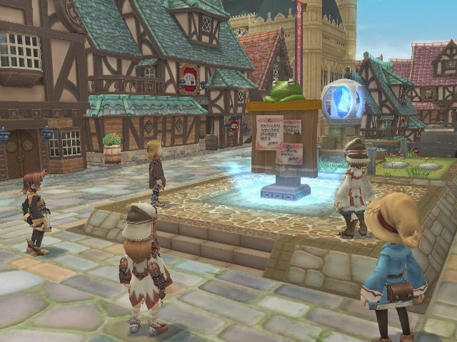 Pantallazo de Final Fantasy Crystal Chronicles: My Life as a King para Wii