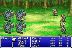 Pantallazo de Final Fantasy I & II: Dawn of Souls para Game Boy Advance
