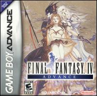 Caratula de Final Fantasy IV Advance para Game Boy Advance