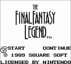Pantallazo de Final Fantasy Legend [1998], The para Game Boy