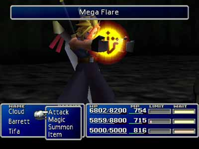 Pantallazo de Final Fantasy VII para PC