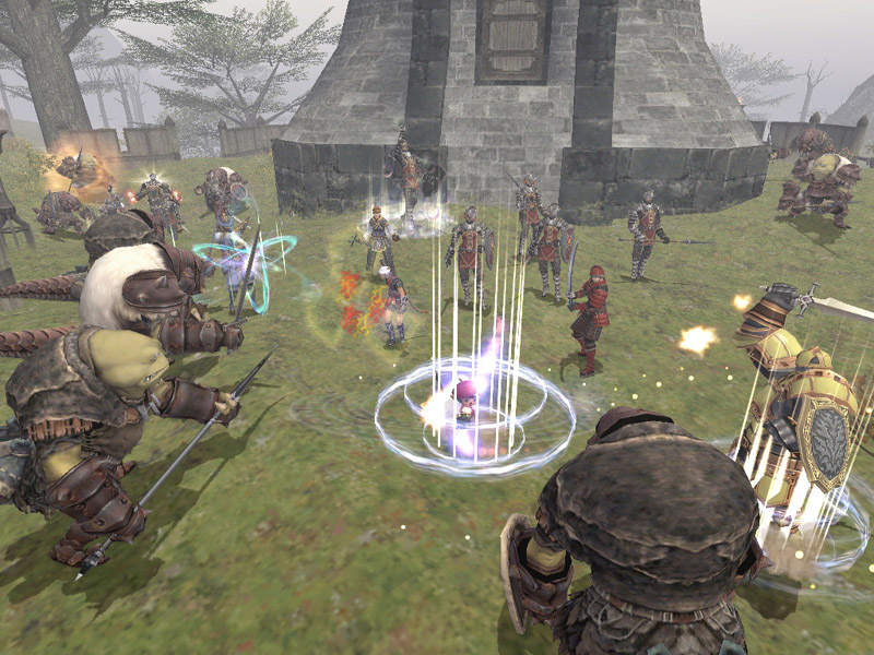 Pantallazo de Final Fantasy XI: Wings of the Goddess para PC