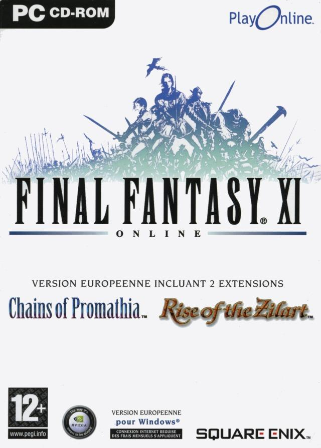 Caratula de Final Fantasy XI Online para PC