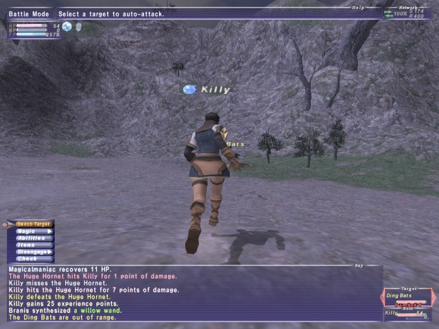 Pantallazo de Final Fantasy XI Online para PlayStation 2